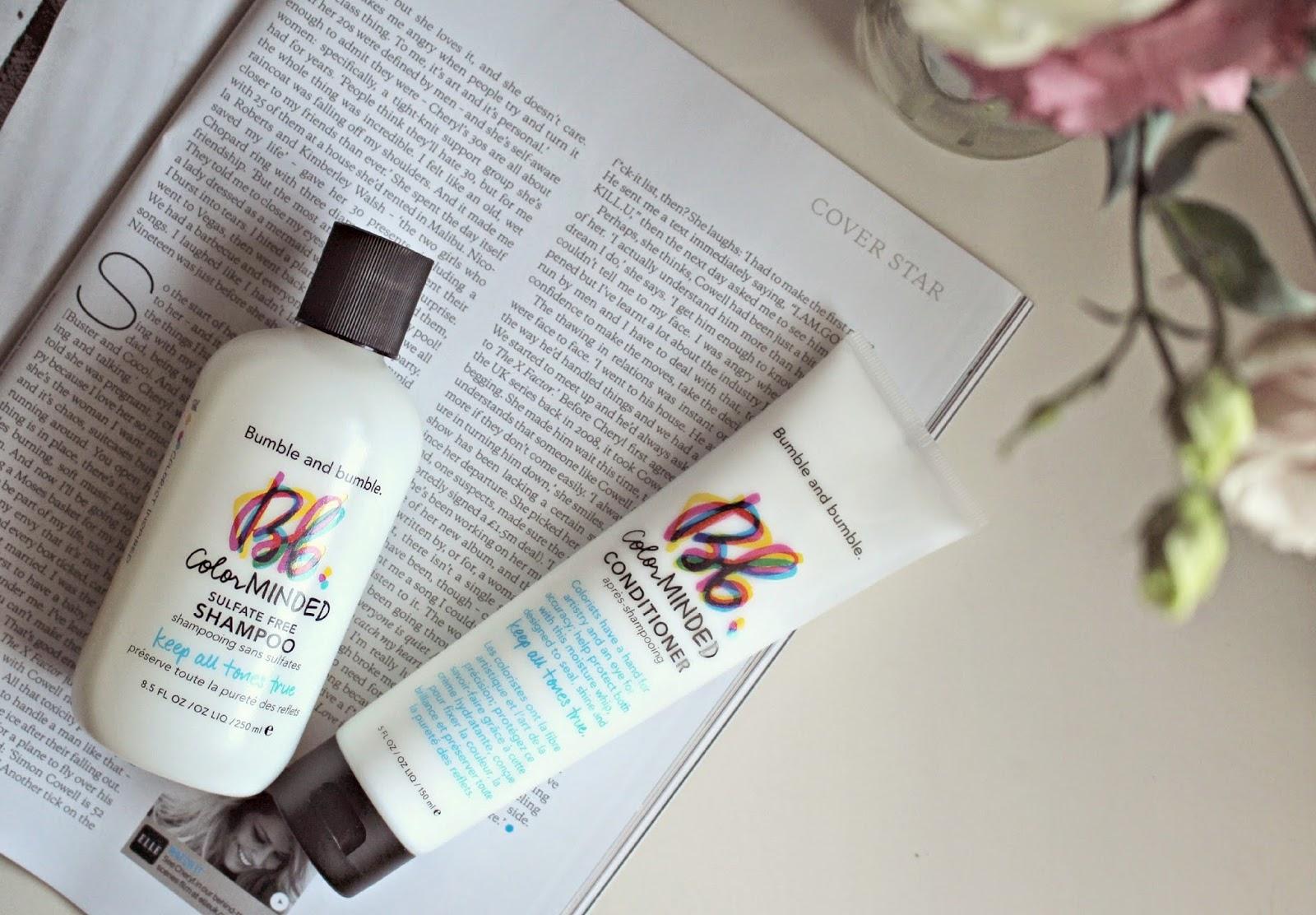 Șampon pentru păr vopsit Color Minded fără sulfat