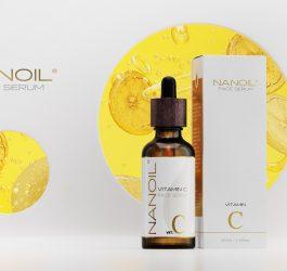 Nanoil ser facial cu vitamina C bun