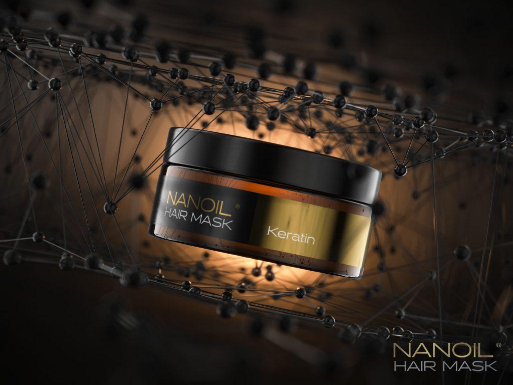 mască cu keratină Nanoil